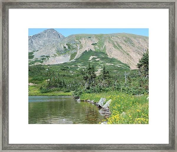 Four Lakes Framed Print