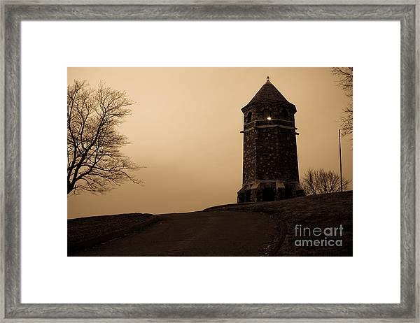 Fox Hill Tower Framed Print