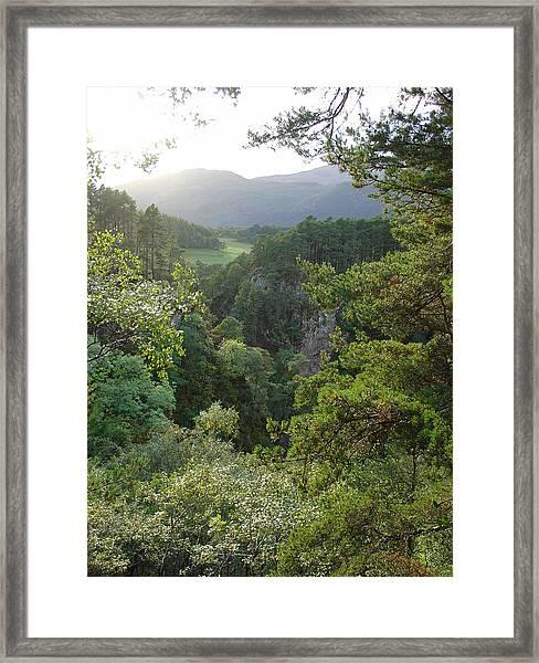 Foyers Valley Framed Print