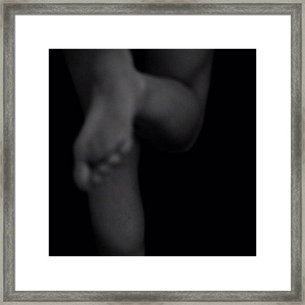 Fragile Tension Framed Print