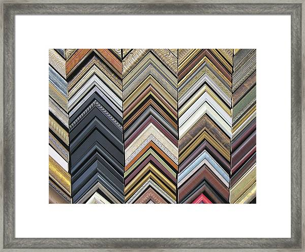 Framed Print featuring the photograph Frames  by Ralph Jones