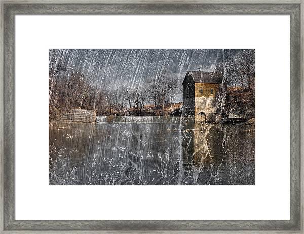 Fredonia Mill Framed Print