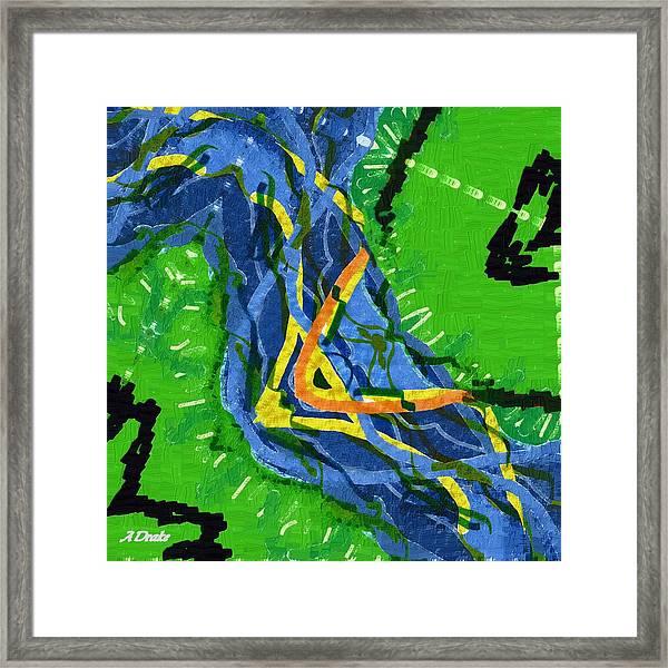 Freedom River Framed Print