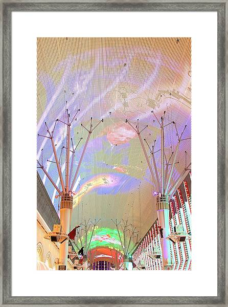 Fremont Street Framed Print