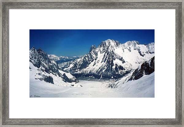 French Alps Framed Print