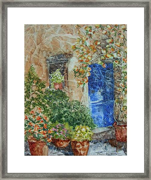 French Doorway Framed Print