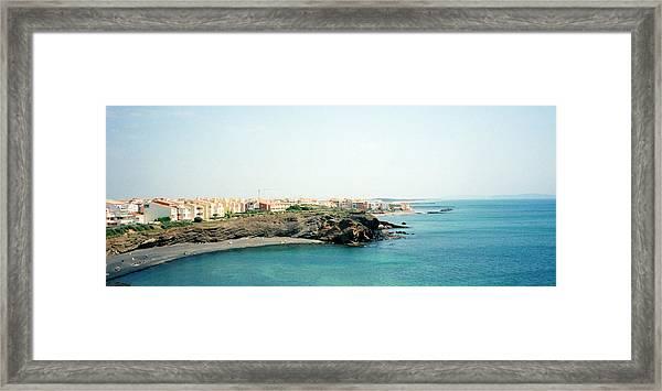 French Riviera Framed Print