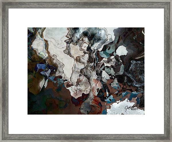 From The Ocean Floor Framed Print