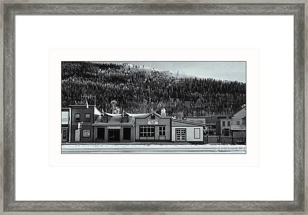 Front Street Framed Print