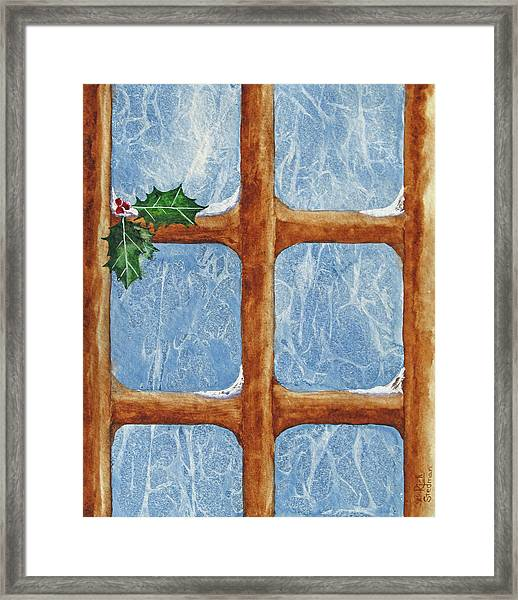 Frost By Jack Framed Print