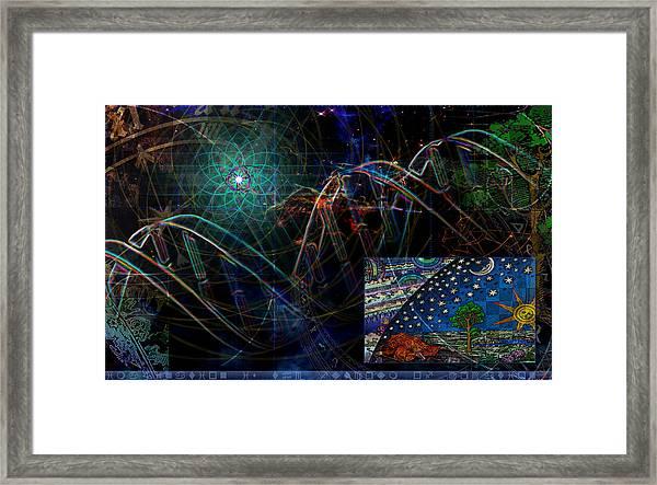 Fulcrum Framed Print