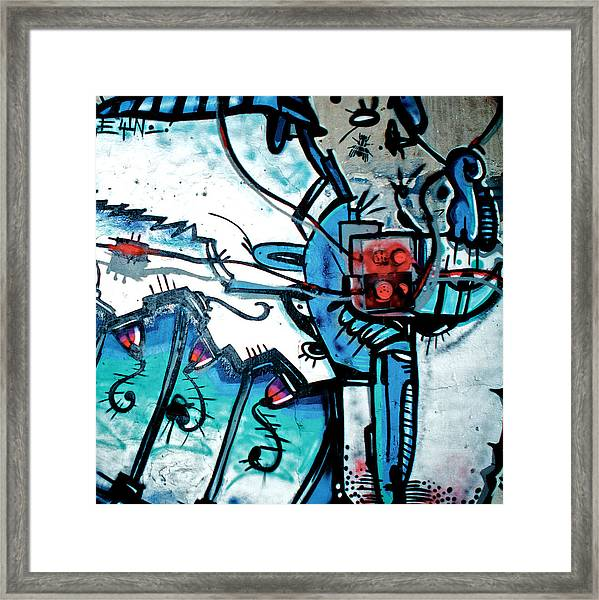 fuse box framed print