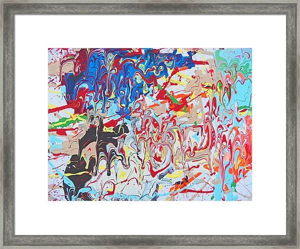 Fyr Art Work 5 Framed Print