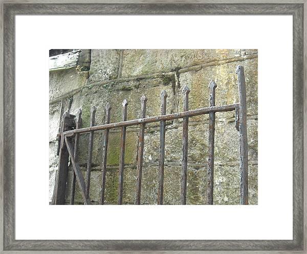 Gate Top  Framed Print