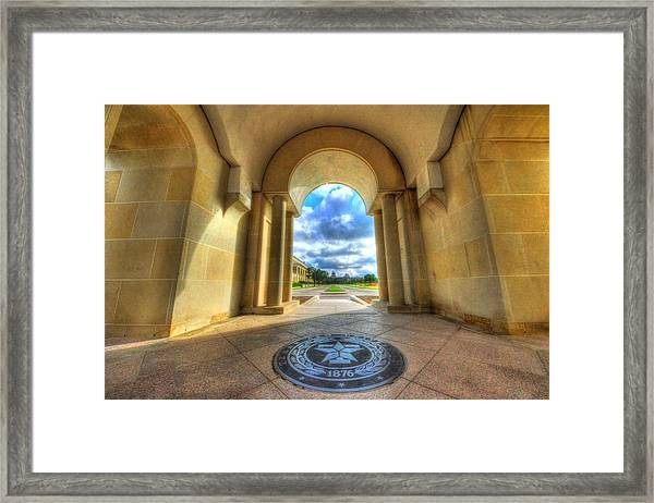 Gateway To A New Life Framed Print