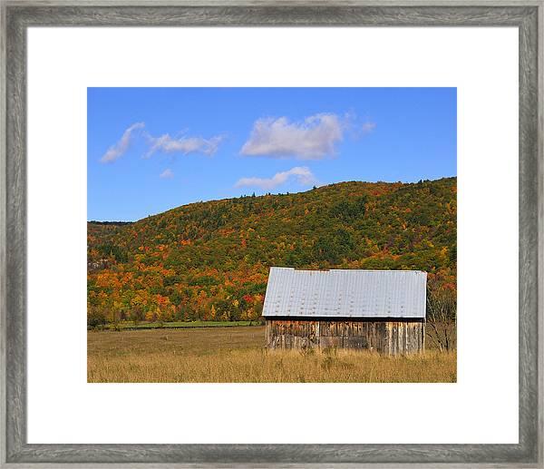 Gatineau Escarpment Framed Print