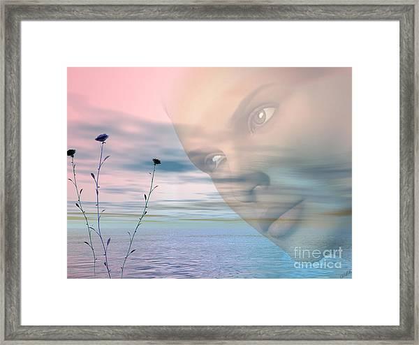 Gaze Framed Print by Tea Aira