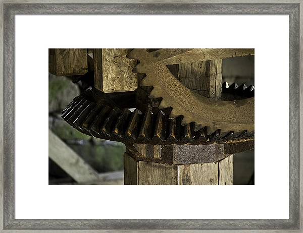 Geared Up Framed Print