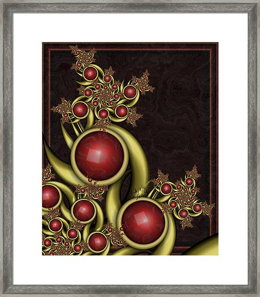Gem Berries Framed Print