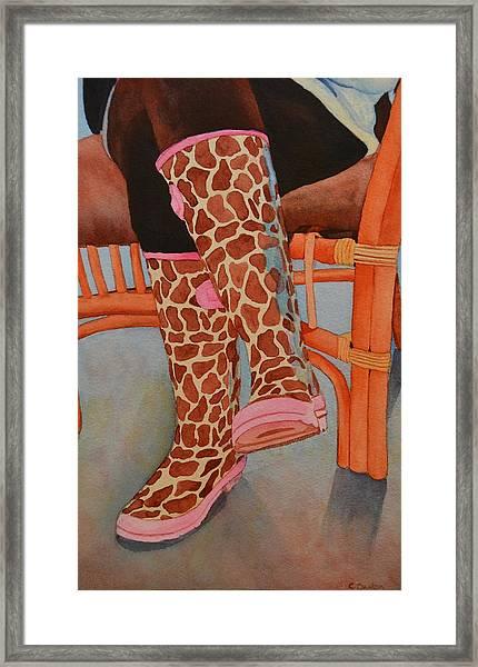 Gerry Afe Framed Print by Cynthia Sexton