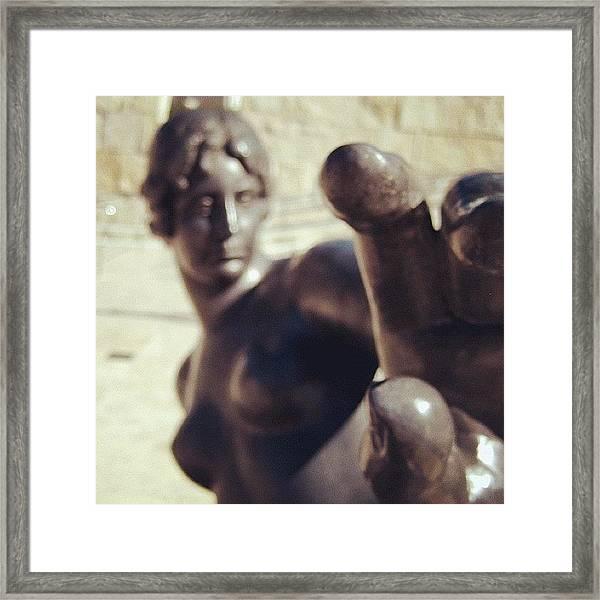 #gettyartmuseum #gettymuseum Framed Print