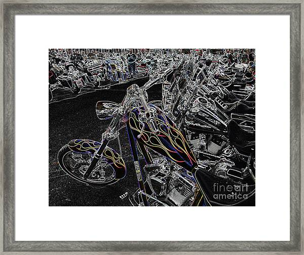 Ghost Rider 2 Framed Print