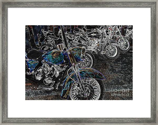 Ghost Rider Framed Print
