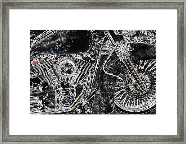 Gimmie The Keys  Framed Print