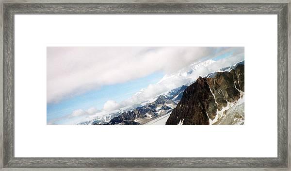 Glacier Flight Framed Print