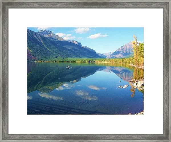 Glacier Park Magic Framed Print