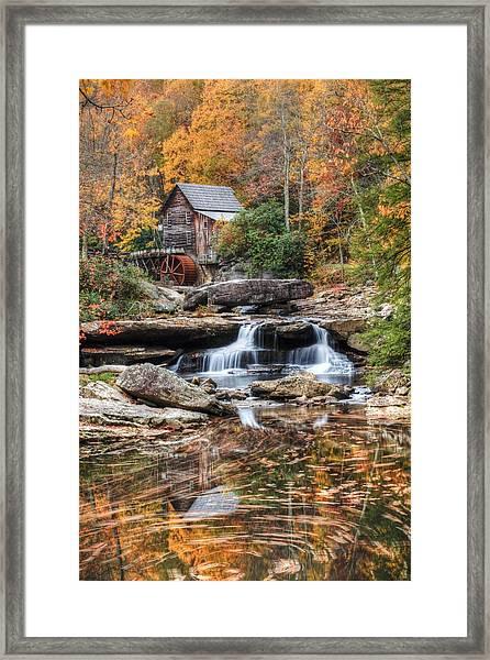 Glades Creek Mill Framed Print