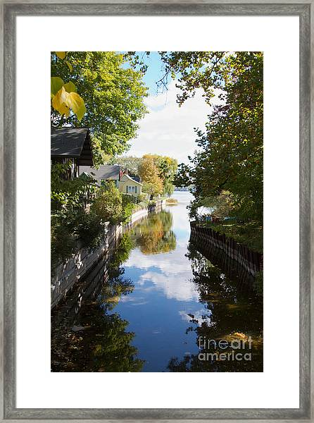 Glenora Point Framed Print