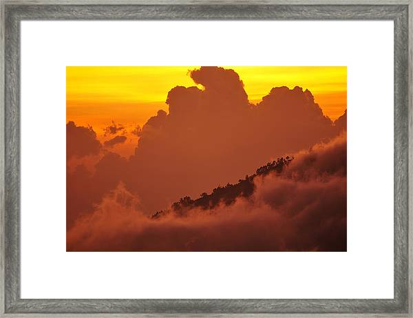 Glorious Sunrise Framed Print by Sebastien Coursol