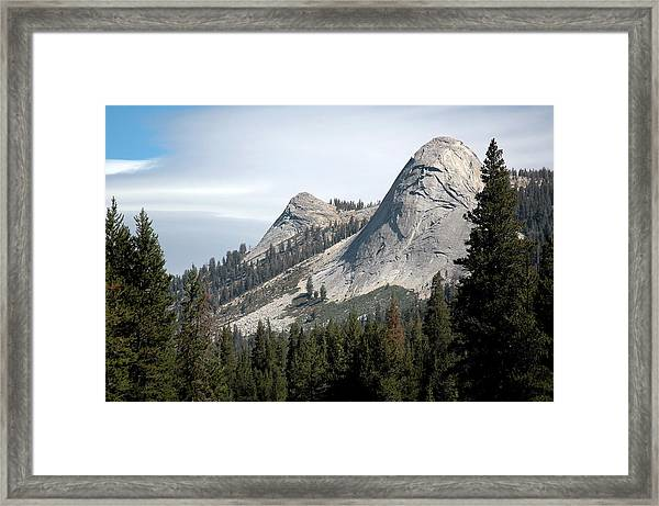 Framed Print featuring the digital art God's Dome by Visual Artist Frank Bonilla