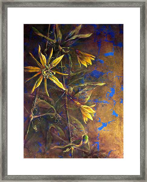 Gold Passions Framed Print