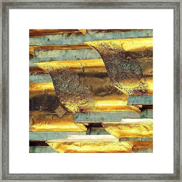 Gold..always Believe In Your Framed Print