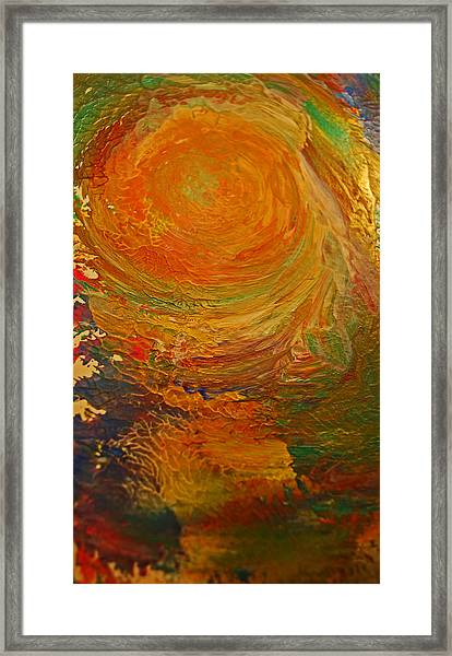 Golden Glow Framed Print by Gloria Warren