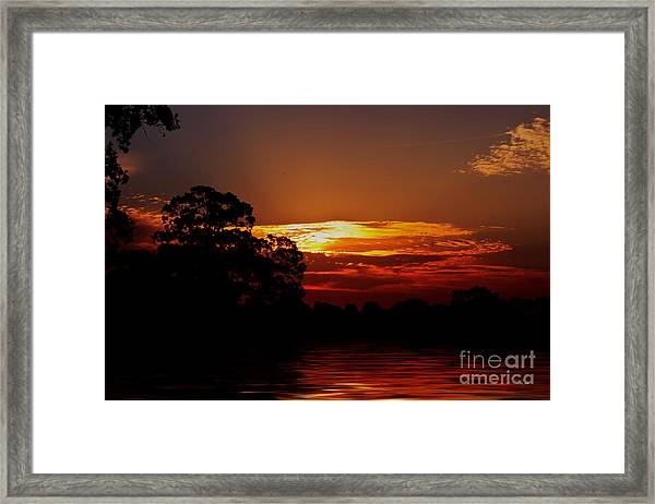 Golden Pond Framed Print