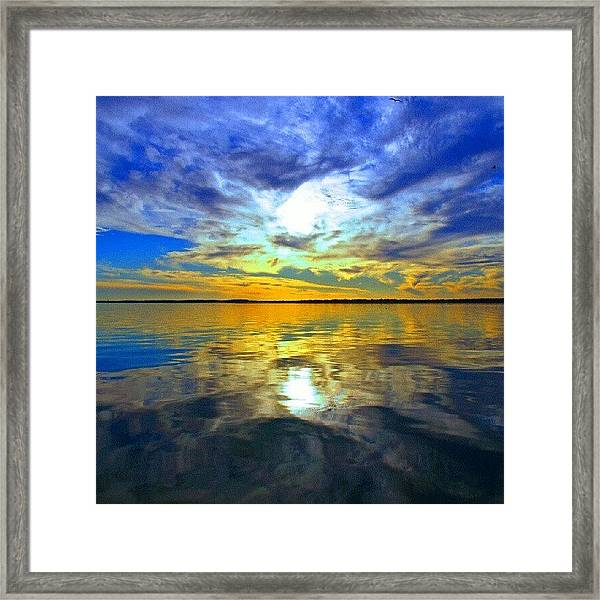 Golden Sunset IIi Framed Print