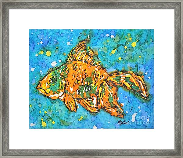 Goldfish Framed Print