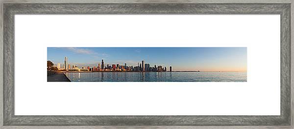 Good Morning Chicago Framed Print