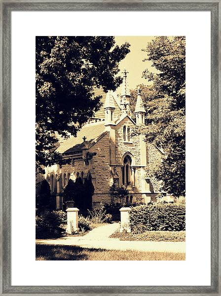 Gothic Chapel Framed Print