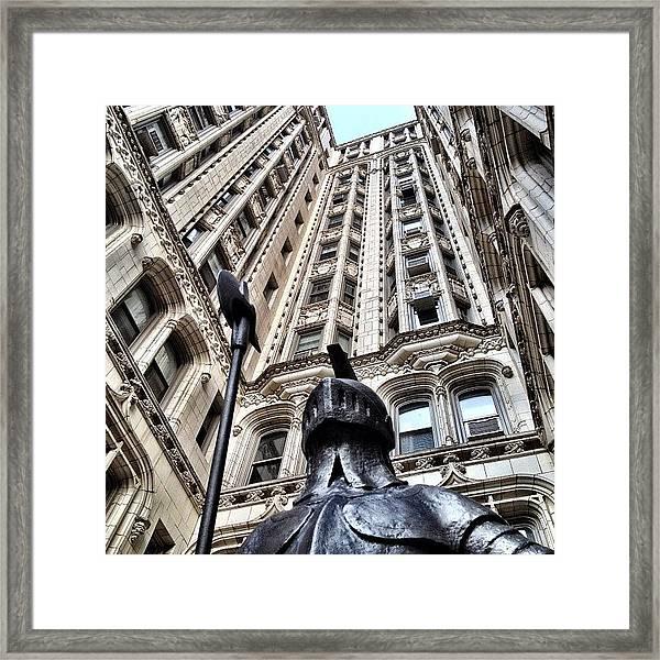 Gothic Gramercy Framed Print