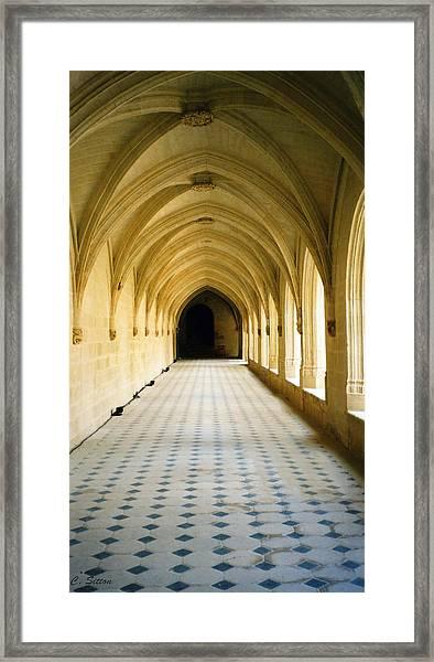 Grand Hall Framed Print