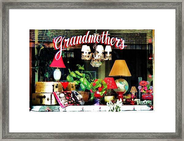 Grandmother's Framed Print