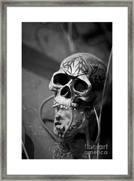 Graveyard  Framed Print