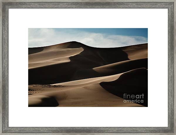 Great Sand Dunes Framed Print