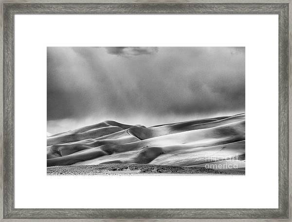 Great Sand Dunes National Park II Framed Print