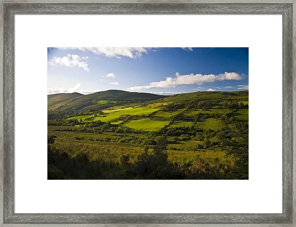 Green Grass Of Home Framed Print
