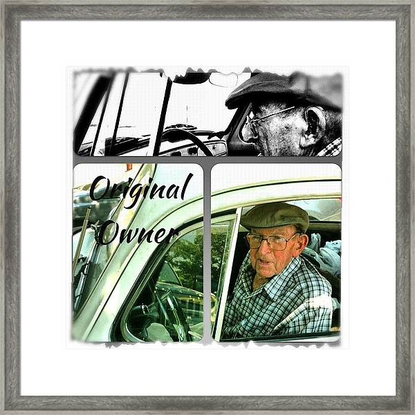 Grocery Shopping Day ... 99 Years Framed Print